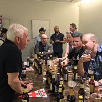 Bombardier beer tasting at Dads Network Live