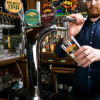Sierra Nevada beer on tap at the White Horse Parsons Green